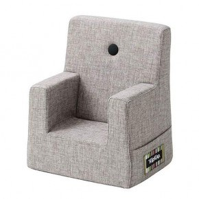 By KlipKlap Kids Chair - Grå m Grå Knap DEMO