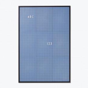 Design Letters Message Board - Blå