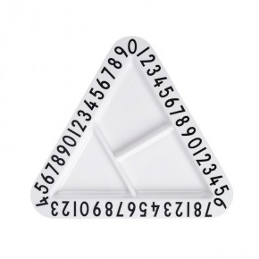 Design Letters - Trekantet tallerken