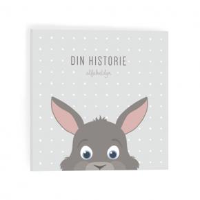 Alfabetdyr Din historie - Grå kanin