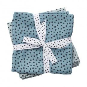 Done By Deer - Happy dots svøb 2-pack - Blue