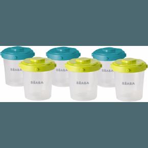 Béaba - 6*200 ml. opbevaring