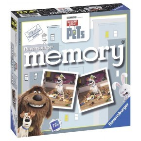 Ravensburger - Secret Life of Pets  memoryspil