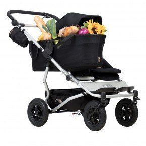 Mountain Buggy Klapvogn - Duet as a single, Black