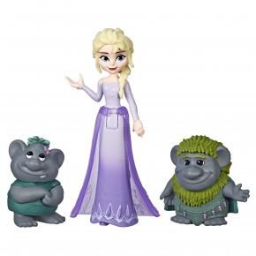 Frost Elsa figur  m. trolde
