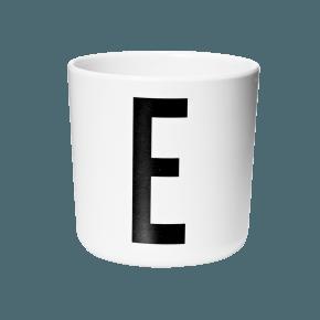Design Letters AJ melamin cup - E