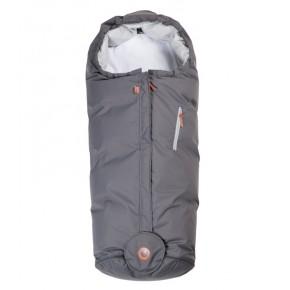 Easygrow HOOD Sove- og kørepose - Grey Solid