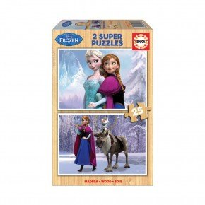 Educa - Frozen (2 x 25 pcs)