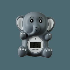 Mininor Badetermometer - Elefant
