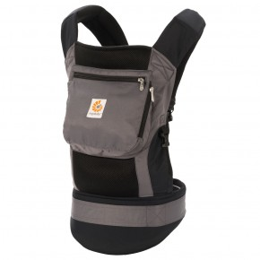 Ergobaby Performance Carrier - Charcoal Black Bæresele