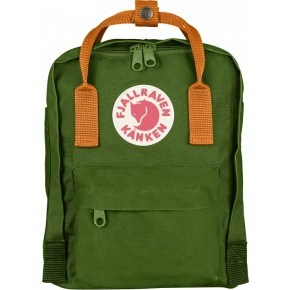 Fjällräven Mini Kånken Rygsæk - Leaf Green/ Burnt Orange
