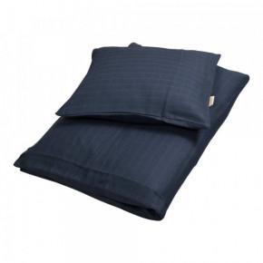 Filibabba junior sengetøj - mørke blå - 100x140 cm.