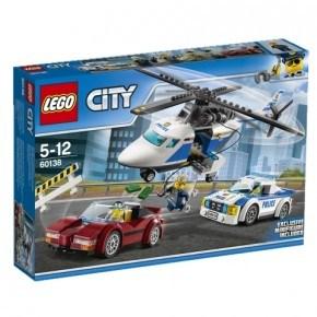 LEGO City - Jagt i høj fart