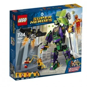 LEGO SUPER HEROES - Lex Luthor Robotkamp - 76097
