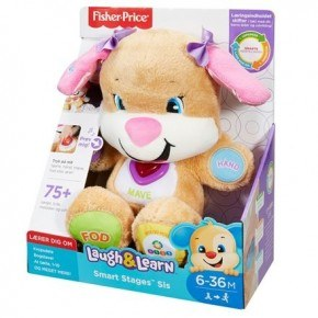 Fisher Price Aktivitets Hundehvalp - Pink