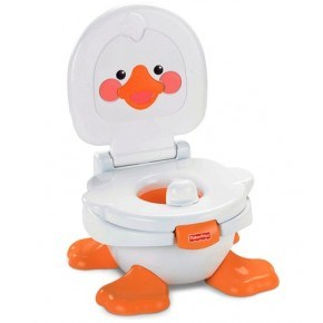 Fisher Price 3-i-1 Ducky potte