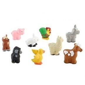 Fisher Price Farm animals - 9 stk