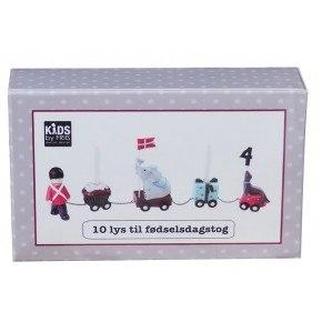 KIDS by FRIIS - Fødselsdagslys, til tog