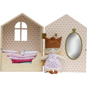 KIDS BY FRIIS - Prinsessen på ærten hus m. dukke+tilbehør