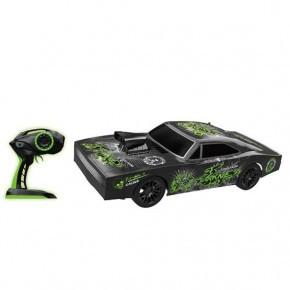 Fusion Street Ghost fjernstyret bil 1:10 - sort/grøn