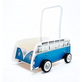 Hape Volkswagen Bus Walker Gåvogn - Blå