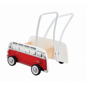 Hape Volkswagen Bus Walker Gåvogn - Rød