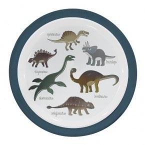 Sebra Melamin tallerken - Dino