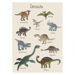 Sebra Plakat - Dino