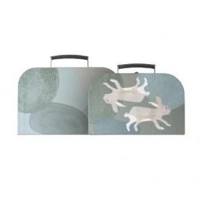 Sebra Kuffertsæt, 2 stk - Arktiske dyr