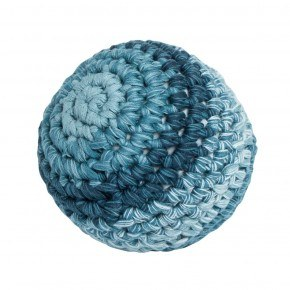 Sebra Hæklet bold, L - Royal blue