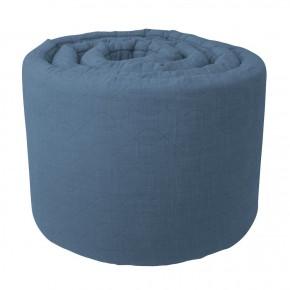 Sebra Sengerand Quilted - Blå