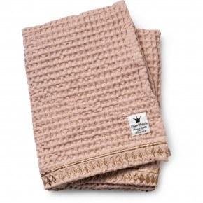 Elodie Details - Vaffelvævet tæppe, Gilded Powder