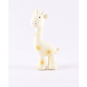 Tikiri Bide- og badedyr giraf hvid