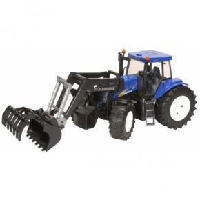 Bruder - New Holland T8040 m. frontlæsser (1:16)