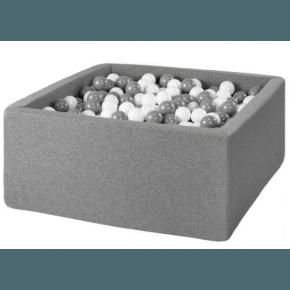MISIOO Boldbassin firkantet 90x90x40 - Grey