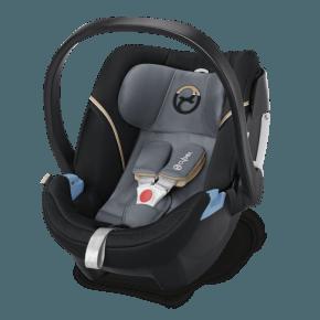 Cybex Aton 5 Autostol - Graphite Black (Til isofix og/eller sele montering)