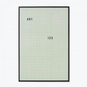 Design Letters Message Board - Grøn