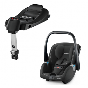 Recaro Guardia, performance black inkl. base