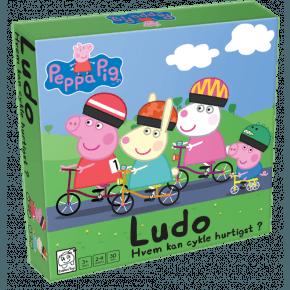 Gurli Gris - Cykel Ludo Spil