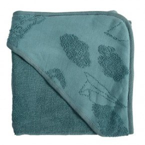 Sebra hættehåndklæde In The Sky - Blue
