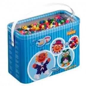 3000 skt. perler inkl perleplader - Hama Maxi
