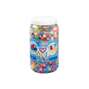 Hama Maxi perler - Pastel mix