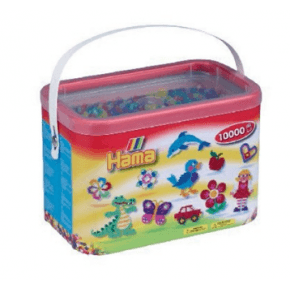 Hama midi perler 10000 stk Glitter Mix