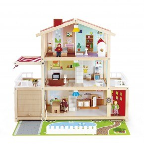 Hape Dukkehus - Doll Family Mansion