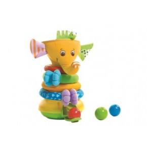 Tiny Love Musical Stack Ball Game Elephant