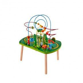 HAPE Hape Jungle Play & Train Activity Table Legetøj