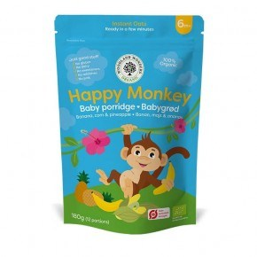 Woodland Wonders - Happy Monkey, 180 G. Øko Babymad