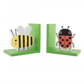 Sass & Belle bogstøtter, bi og mariehøne