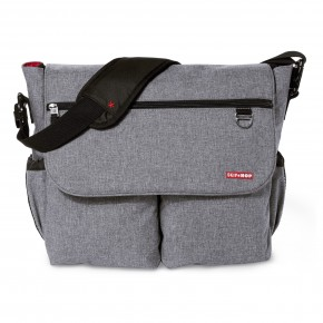 Skip Hop Pusletaske Duo Signature - Heather Grey