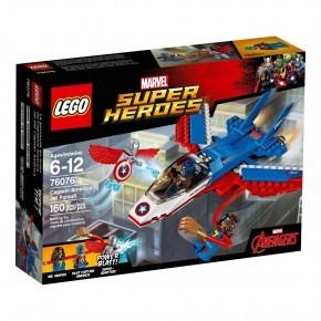 LEGO Super Heroes Captain America jetjagt - 76070